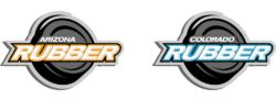 Arizona Rubber + Colorado Rubber Hockey Logos