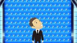 The Wall Chris Hardwick Branded Animation Illustration