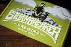 StormBreaker Brewing Logo Identity Design
