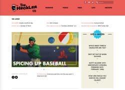 Heckler Baseball Front Page