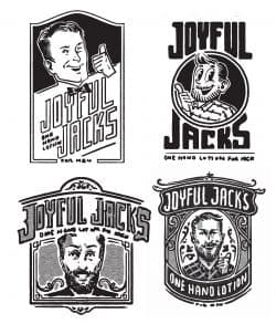 Joyful Jacks Illustration Sketches