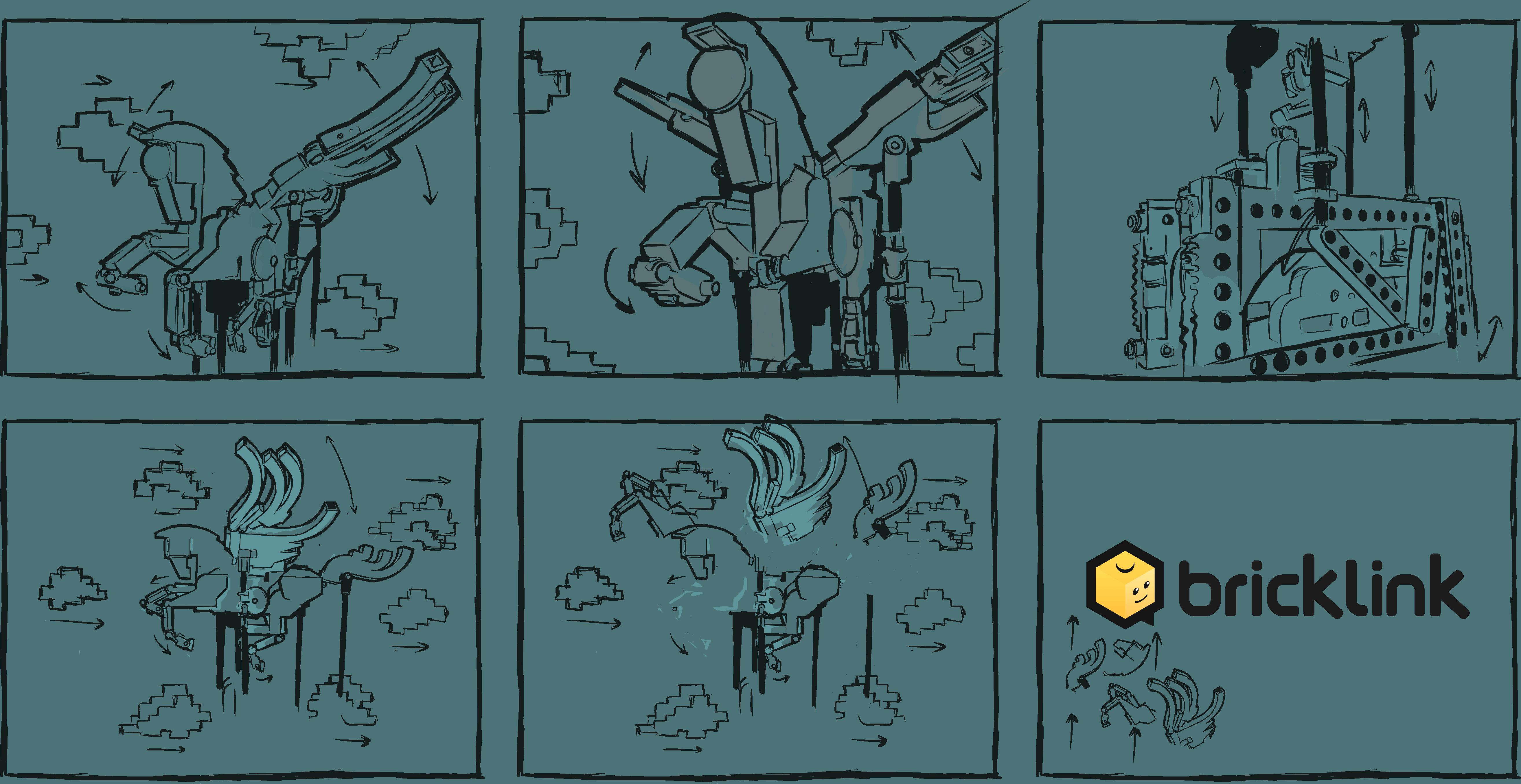 BrickLink Storyboards