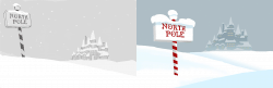 Gritty Animation North Pole Storyboard + Art