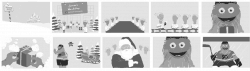 Gritty Animation Storyboards
