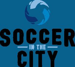 Soccer in the City Brand Identity Logo Design