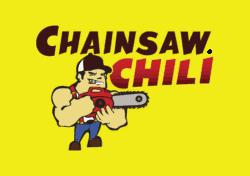 Chainsaw Chili Brand Identity Logo Design